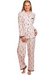 La Marquise Love Birds Pyjama Set Zoom 1