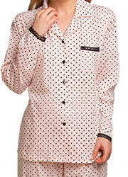 La Marquise Love Hearts Pyjama Set Zoom 2
