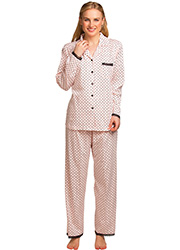 La Marquise Love Hearts Pyjama Set Zoom 1