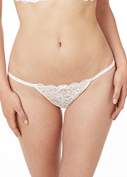 Le Mystere Sophia Lace Thong Zoom 2