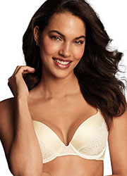 Maidenform Comfort Devotion Push Up Convertible Bra Zoom 1