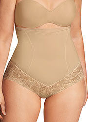 Maidenform Tummy Solutions Curvy Hi-Waist Brief Zoom 2