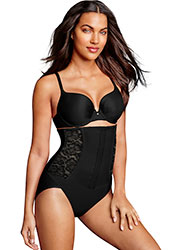 Maidenform Tummy Solutions Laced To Perfection Waist Nipping Brief