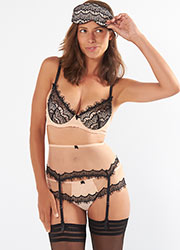 Mimi Holliday Bisou Bisou Zoo Wide Rainbow Suspender Belt Zoom 4