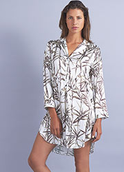Mimi Holliday Cap Ferrat Silk Nightshirt