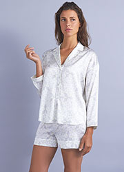 Mimi Holliday Panarea Silk Shortie Pyjama Set Zoom 1