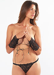 Mimi Holliday Rollercoaster Cuff And Thong Set