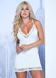 Mapale Most Loved Lace Babydoll With G-String Zoom 2