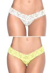 Mapale Small Details Lace Thong Zoom 3