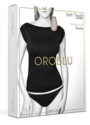 Oroblu Soft Touch Divine Boat Neck Top  Zoom 2
