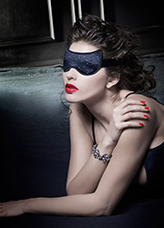Oroblu Temptation Strass Mask