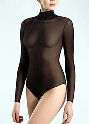 Pierre Mantoux Tulle Body Collo Alto Zoom 1