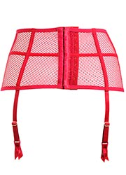 Pour Moi Contradiction Strapped Scarlett Suspender belt Zoom 2