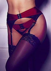 Pour Moi Hook Up Suspender Belt