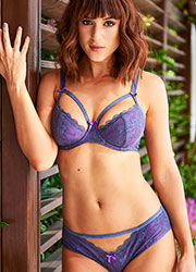 Pour Moi Instinct Purple Underwired Bra Zoom 4