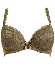 Pour Moi Rebel Padded Plunge Bra Zoom 2