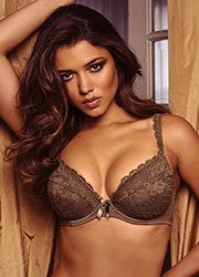 Pour Moi Rebel Padded Plunge Bra Zoom 1