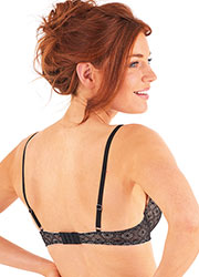 Pretty Polly Erin Padded Plunge Bra Zoom 2