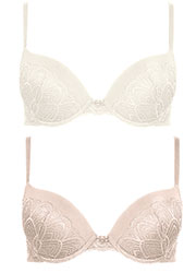 Pretty Polly Grace Plunge Bra Zoom 4