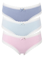 Pretty Polly Katrina Soft Touch Brazilian Briefs 3PP