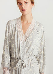 Promise Hebe Floral Robe Zoom 2