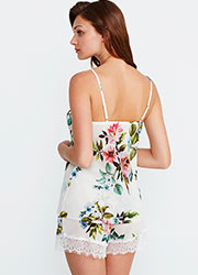 Promise Luxury Aida Floral Cami And Short Set Zoom 2