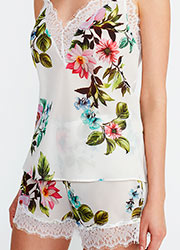 Promise Luxury Aida Floral Cami And Short Set Zoom 3