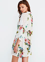 Promise Luxury Aida Floral Robe Zoom 2