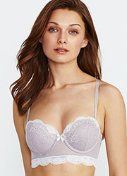Promise Luxury Aida Push Up Balconette Bra Zoom 3