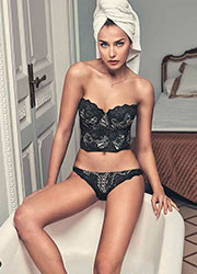 Promise Luxury Nocturno Push Up Bustier Bra