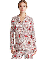 Promise Tisbe Floral Button Down 2 Piece Pyjama Set Zoom 4