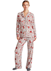 Promise Tisbe Floral Button Down 2 Piece Pyjama Set