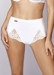 Playtex Cotton & Lace Maxi Briefs 3PP