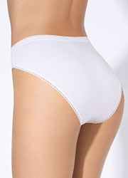 Playtex Cotton High Leg Briefs 3PP Zoom 2