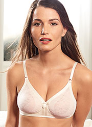 Playtex Ideal Beauty Lace Soft Cup Bra Zoom 1