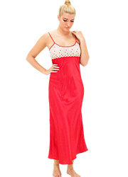 Repose Cecille Satin Nightdress Zoom 1
