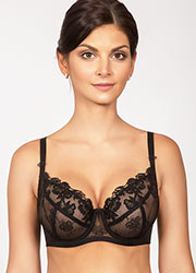 Rosme Black Label Underwired Non Padded Bra Zoom 1