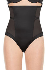 Spanx Oh My Posh High Waisted Shaping Thong Zoom 1