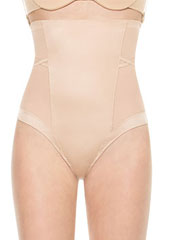 Spanx Oh My Posh High Waisted Shaping Thong Zoom 2