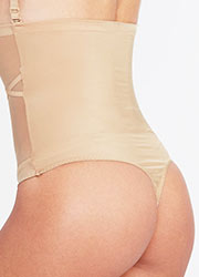 Spanx Oh My Posh High Waisted Shaping Thong Zoom 4