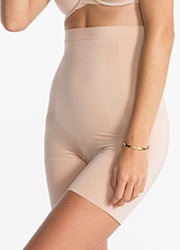 Spanx Oncore High Waisted Mid Thigh Short Zoom 1