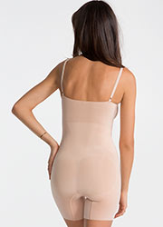 Spanx Oncore Mid Thigh Bodysuit Zoom 2