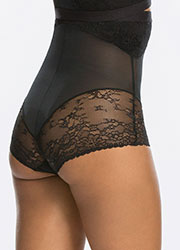 Spanx Spotlight On Lace High Waisted Brief Zoom 2