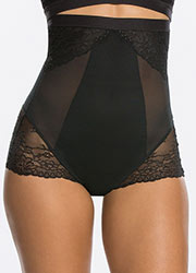 Spanx Spotlight On Lace High Waisted Brief Zoom 1