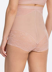 Spanx Spotlight On Lace High Waisted Brief Zoom 4