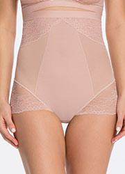 Spanx Spotlight On Lace High Waisted Brief Zoom 3
