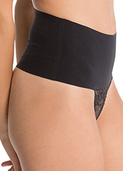 Spanx Undie Tectable Lace Thong Zoom 2