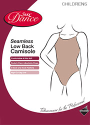 Silky Dance Children Seamless Low Back Camisole