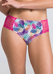 Wonderbra Modern Chic Palm Print Shorty Zoom 1