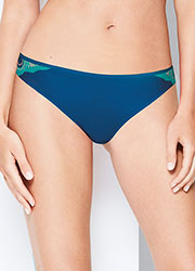 Wonderbra Refined Glamour Blue Brazilian Brief Zoom 1